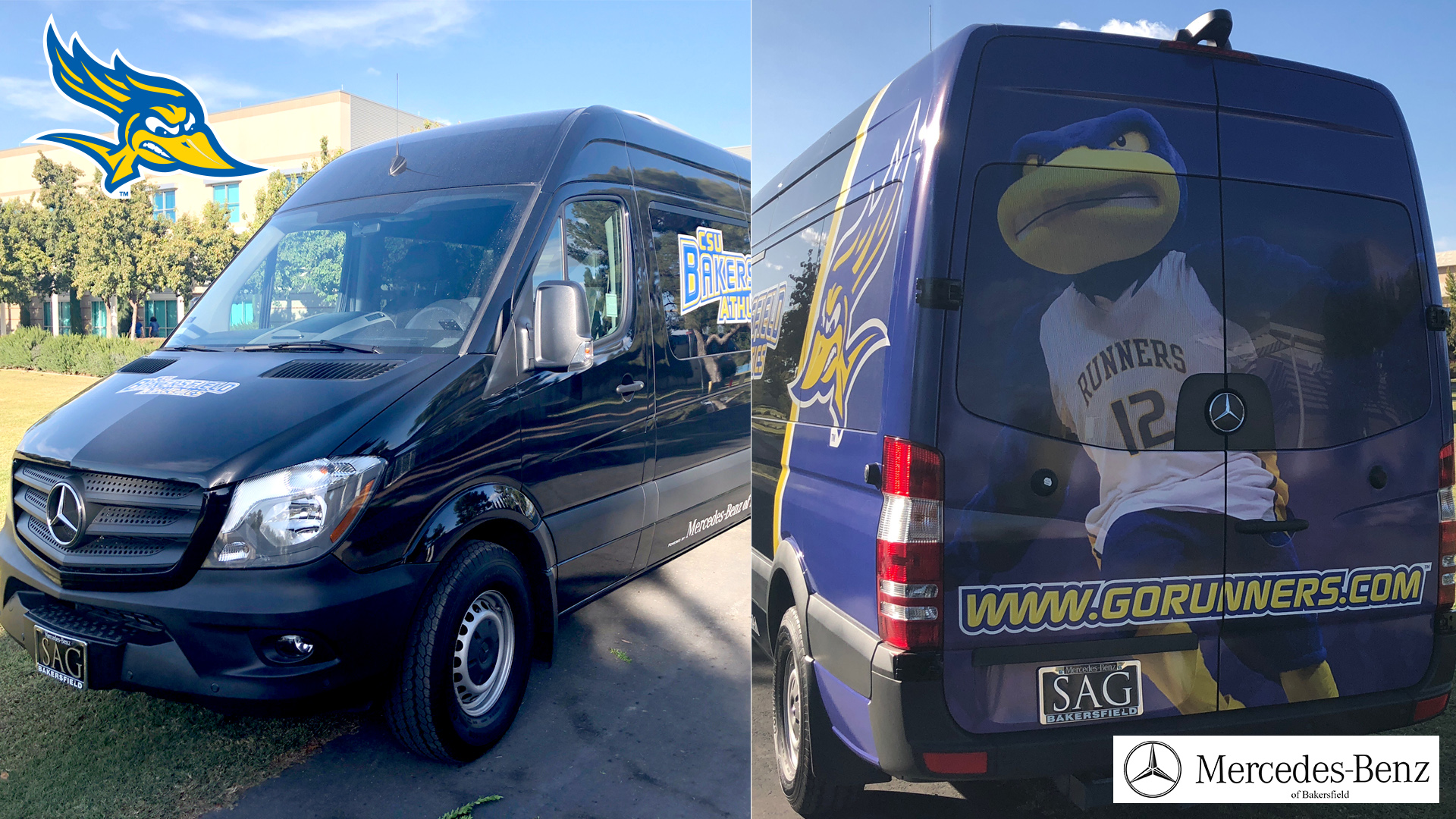 Perfect CSUB Adds Vans In Partnership With Mercedes Benz Of Bakersfield